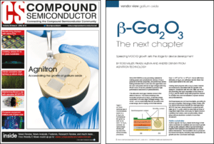 Agnitron β-Ga2O3 Growth Work Featured In June Issue of Compound