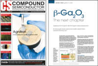 Agnitron β-Ga2O3 Growth Work Featured In June Issue Of Compound Semiconductor Magazine